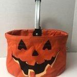 pumpkin trick or treat bucket