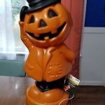 halloween blow mold reproduction