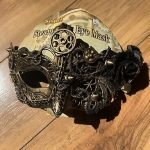 spirit halloween steampunk mask