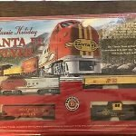 Christmas Train Set Bachmann