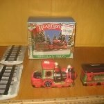Christmas Train Set With Village