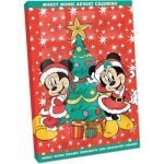 mickey mouse ornament advent calendar