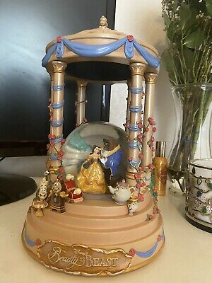 Beauty And The Beast Snow Globe