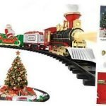 Christmas Train Set Smoke