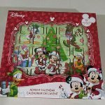 mickey mouse wooden advent calendar