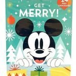 mickey mouse chocolate advent calendar