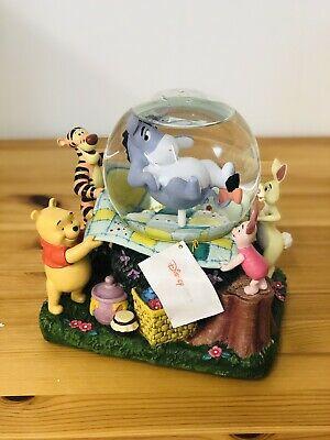 eeyore snow globe