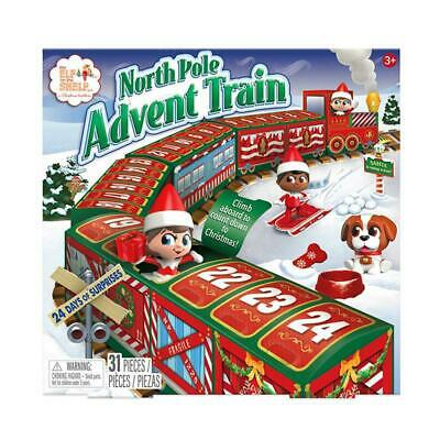 Elf On The Shelf Advent Calendar Train