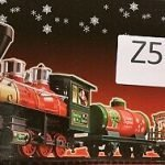 Christmas Train Set North Pole Express