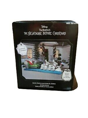 nightmare before christmas yard inflatables