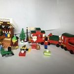 Christmas Train Set Lego