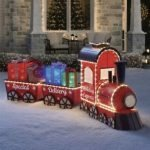 Christmas Train Set Outdoor