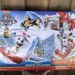 paw patrol toy advent calendar 2019