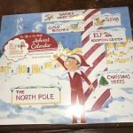 elf on the shelf advent calendar Christmas Countdown