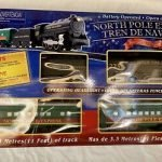 North Pole Express Christmas Train Set Battery Operated