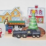 Christmas Tree Train Set Polar Express