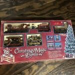 Christmas Train Set Decorations