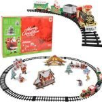 Christmas Yard Train Set