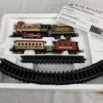 Battery Operated Christmas Tree Train Set