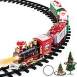 Christmas Train Set With Light And Sound