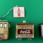Coca Cola Christmas Train Set