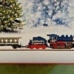 Z Scale Christmas Train Set