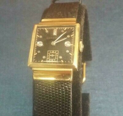 longines vintage watches square face