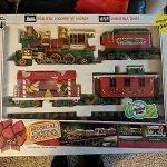musical christmas express train set 1992