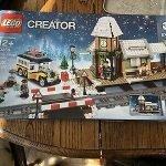 Lego Christmas Train Station