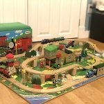 thomas christmas train set