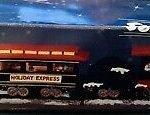 Happy Holiday Express Christmas Train Set