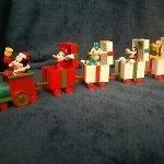 Mickey Christmas Train Set