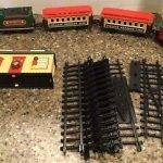 musical christmas express train set
