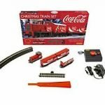 hornby r1233 coca-cola christmas train set model red